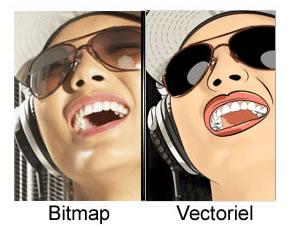 Quel est la différence entre une image matricielle ou vectorielle ? |  Baches-publicitaires.com