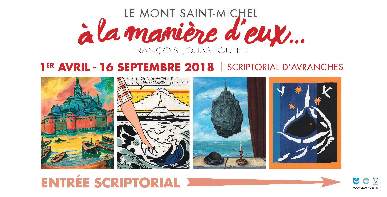 Cas client : bâche publicitaire Le Mont Saint-Michel