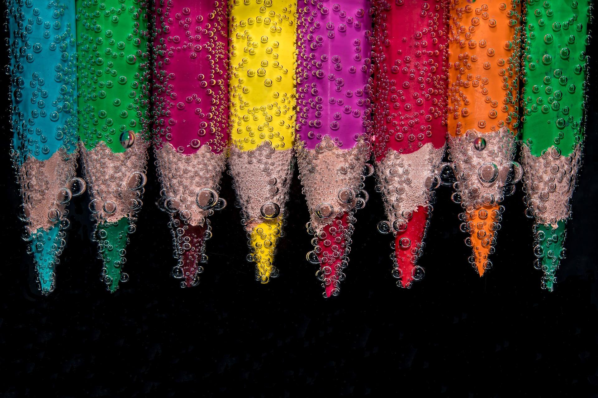 Les couleurs et les émotions associées