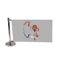 Barrière publicitaire standard 150 cm, jeux complémentaire