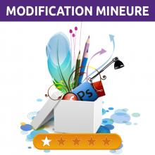 Modifications mineures