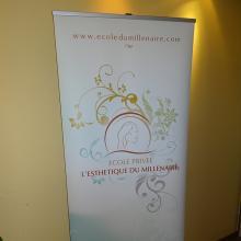 Bâche publicitaire salon HD M1/B1 450 g