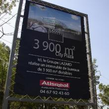 Bâche publicitaire standard HD 510 g