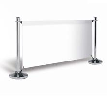 Barrière publicitaire standard 150 cm, jeux complet