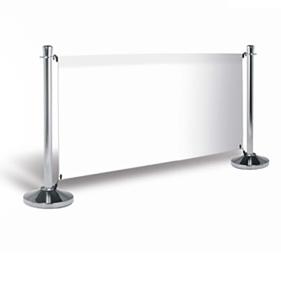 Barrière pub standard 150 cm, jeux complet  & impression - Vulcain