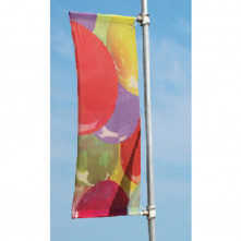 Potence drapeau publicitaire 150 cm Frigg