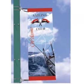 Potence drapeau publicitaire 200 cm Frigg