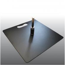 Pied oriflamme: carré