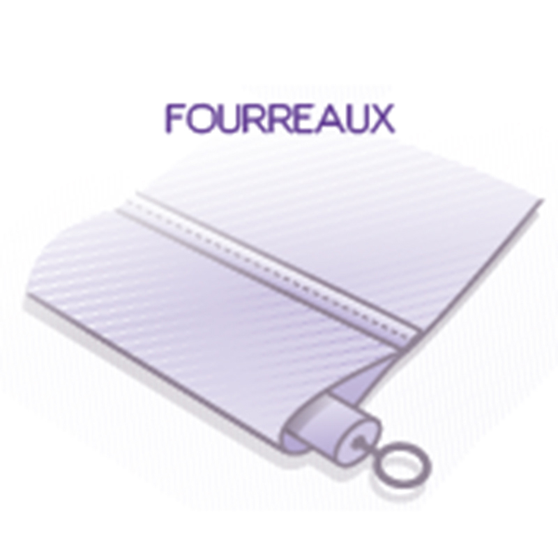 finitions fourreaux